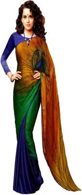 Lucky Fashion Self Design Bollywood Silk Sari
