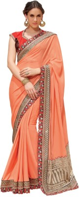 Heart & Soul Embriodered Bollywood Georgette Sari