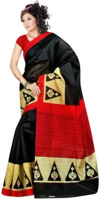 KESARSAREES Printed Bhagalpuri Banarasi Silk Sari