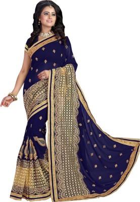 Fabliva Embriodered Fashion Georgette Sari