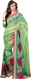 MySarees Striped Fashion Georgette Saree...