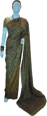 Krishnakali Boutique Embriodered Fashion Pure Silk Sari