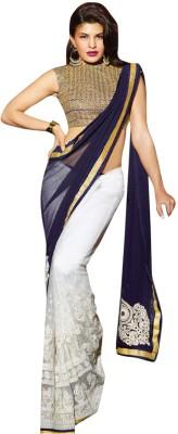 Tejaswini Self Design Bollywood Net Sari