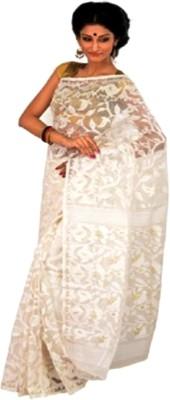 Purabi Saree Woven Jamdani Handloom Silk Sari