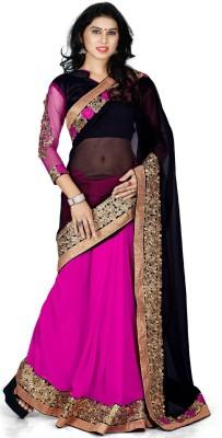 Jay Belnath Creation Embriodered Bollywood Chiffon Sari