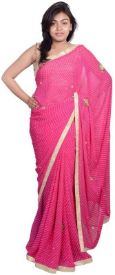MSS Embriodered Bollywood Georgette Sari