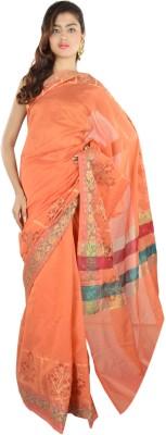 9rasa Floral Print Banarasi Organza Sari