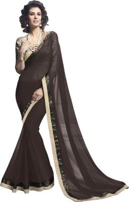 Sahiba Floral Print Fashion Georgette Sari
