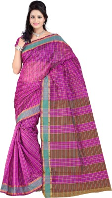 Mahalaxmi Fashion Printed Bollywood Handloom Silk Cotton Blend Sari