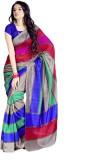 Taanshi Self Design Fashion Art Silk Sar...