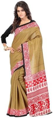 Kintu Designs Pvt. Ltd. Printed Bhagalpuri Silk Sari