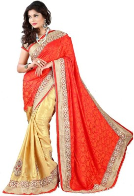 Stylo Designer Self Design Fashion Handloom Jacquard Sari