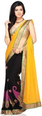 Hian Self Design Bollywood Georgette Sari