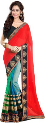 Naresh Sarees Embriodered Daily Wear Marble Padding Sari