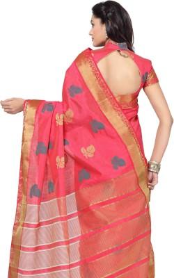Arjuns Woven Daily Wear Tussar Silk Sari