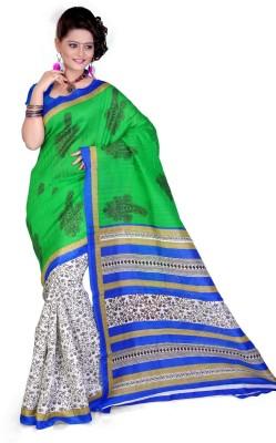 Cenizas Printed Fashion Cotton Sari