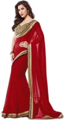 Govindam Embriodered Bollywood Chiffon Sari