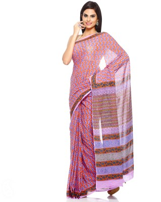 Aapno Rajasthan Floral Print Daily Wear Cotton Sari
