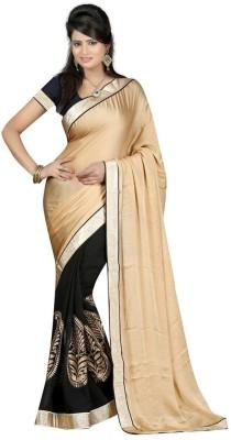 See More Self Design Bollywood Satin Sari