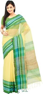 Crochetin Woven Fashion Handloom Cotton Sari