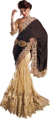 Kaali Fashion Self Design Fashion Satin Sari