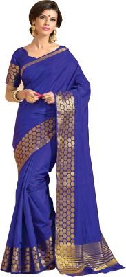Srinidhi Silks Plain Bollywood Dupion Silk Sari