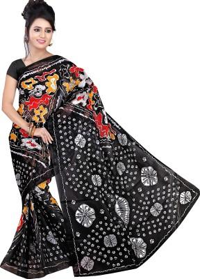 Kjs Printed Bollywood Polycotton Sari