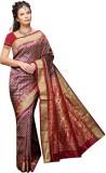 Mahila Silks Woven Paithani Brocade Sare...