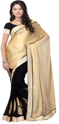 Style Code Self Design Fashion Georgette Sari