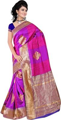 The Core Fashion Geometric Print Fashion Handloom Jacquard Sari