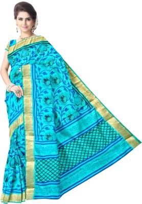 LUBDHA Printed Fashion Art Silk Sari