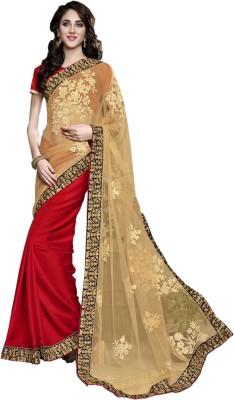 Fashion4masti Embriodered Bollywood Net Sari