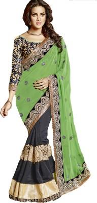 Saree Exotica Embriodered Fashion Jacquard Sari