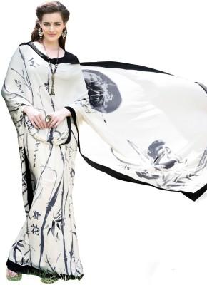 Blossom Boutiques Printed Fashion Crepe Sari