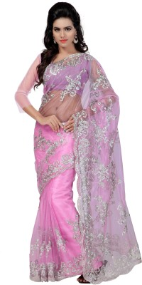 Mahadevi Embriodered Bollywood Net Sari