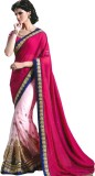 Rozdeal Embroidered Fashion Georgette Sa...