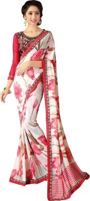 Jp Enterprise Printed Daily Wear Georgette Sari