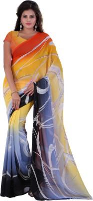 Vardan Prints Printed Fashion Georgette Sari