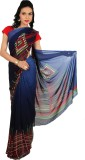 Rama Geometric Print Fashion Georgette S...