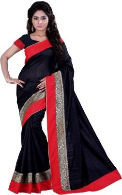 Sarvagny Clothing Solid Bhagalpuri Banarasi Silk Sari