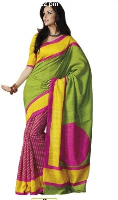 Regalia Ethnic Printed Daily Wear Art Silk Sari
