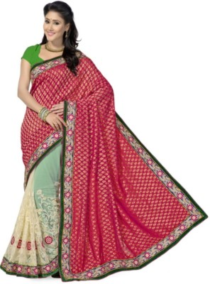 Areum Embriodered Bollywood Net Sari