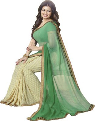 Shree Sakshi Printed Bollywood Handloom Georgette Sari
