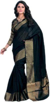 SOSO Plain Fashion Silk Sari