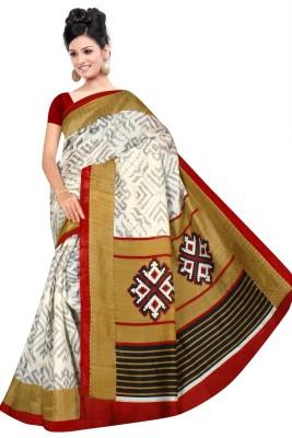 Shivam Saree Printed Bhagalpuri Silk Sari