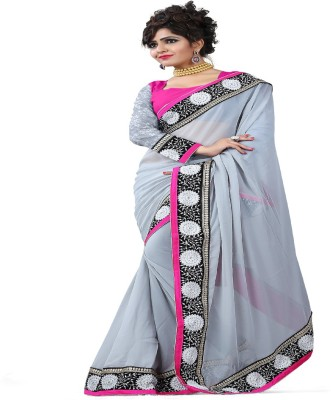 Shopimo Fashion Self Design Fashion Handloom Velvet, Net Sari