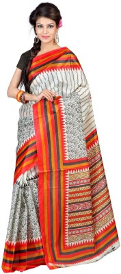 Shagun Prints Printed Bhagalpuri Art Silk Sari