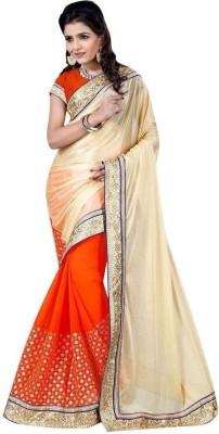 edeal online Embriodered Fashion Net Sari
