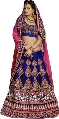 Aagamanfashion Self Design Fashion Net, Velvet Sari at flipkart