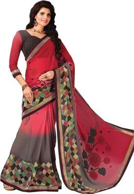 Tulaasi Printed Fashion Chiffon Sari